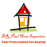 DR. Paul Home Inspection, Logo
